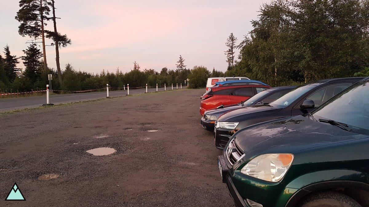 jagnięcy szczyt parking